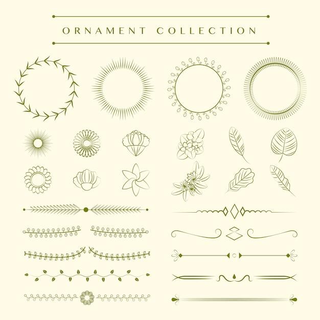 装飾コレクションのコンセプト