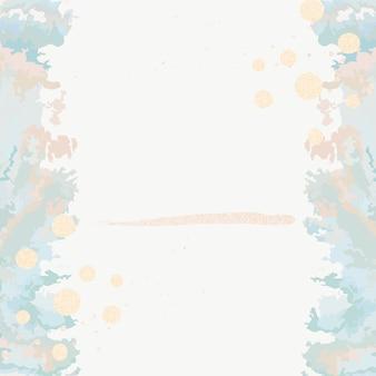 Акриловая краска заливает вектор фона