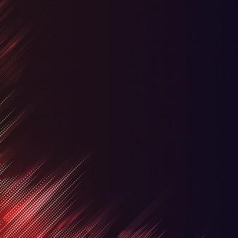 赤と黒のパターン化された背景ベクトル