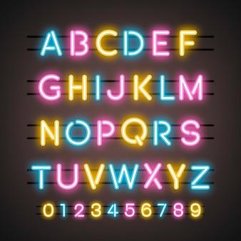 アルファベットと数字のシステム