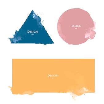 Иллюстрация шаблона дизайна значков