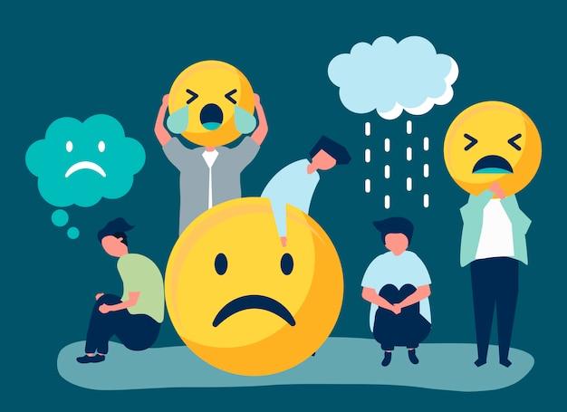 うつ病と不幸の人