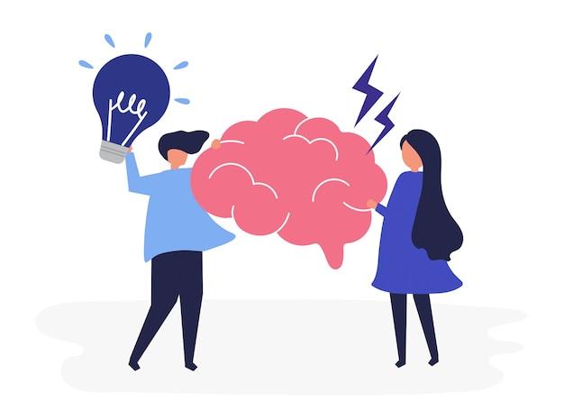 創造的なアイデアを持つ人々の性格