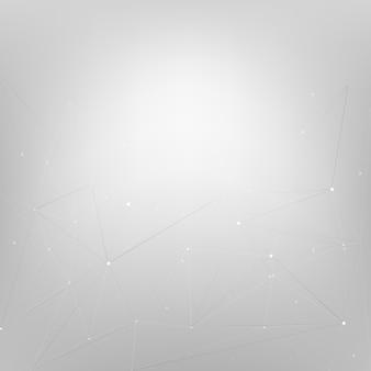 灰色の星を持つ抽象的な背景デザイン
