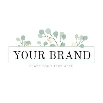 Натуральный дизайн логотипа