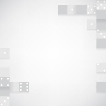 Серые блоки на белом фоне пустой вектор