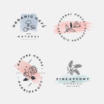 花の植物のフレームコレクション