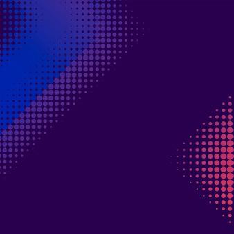紫とピンクのハーフトーン背景ベクトル