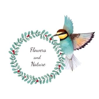 Иллюстрация птица птица птица, изолированных на белом фоне