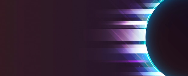 ネオンライトの背景