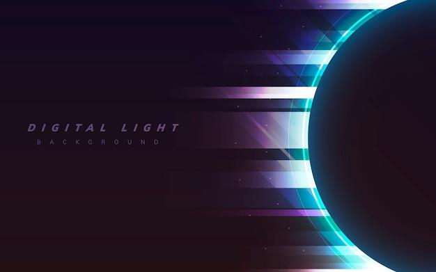 デジタルライト背景