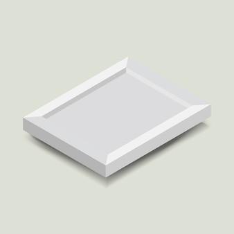 フォトフレームアイコンのベクトル図