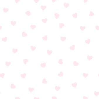 ライトピンクのハート型