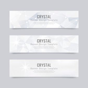 Кристалл текстурированный фон коллекции