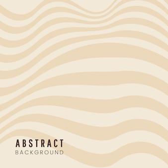 ベージュの抽象的な背景デザインのベクトル