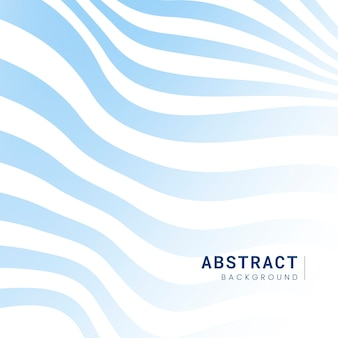 青と白の縞模様の抽象的な背景のベクトル
