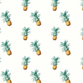 Иллюстрация картины ананаса