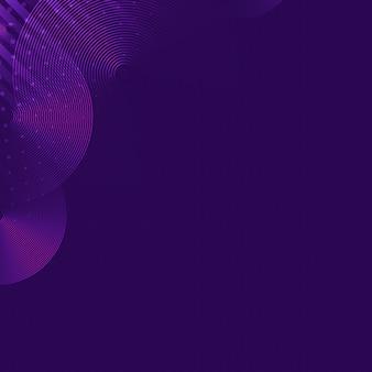 Пустой фиолетовый узорчатый фон вектор