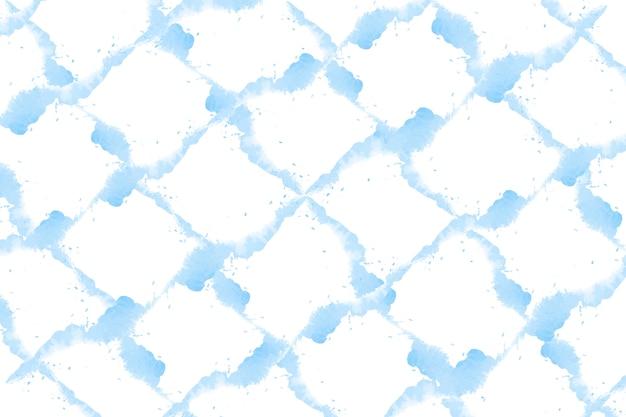 パステルブルーの水彩画の背景のベクトル