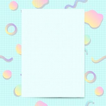 Девчушки пастельные карты макет вектор
