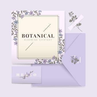 ウェディングカードのデザイン