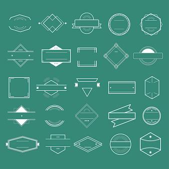 Значок символ значок логотип коллекция концепция