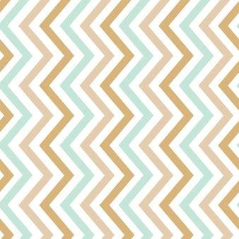 パステル調のシームレスなジグザグパターンベクトル