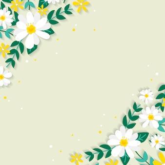 Весенние цветочные границы иллюстрации
