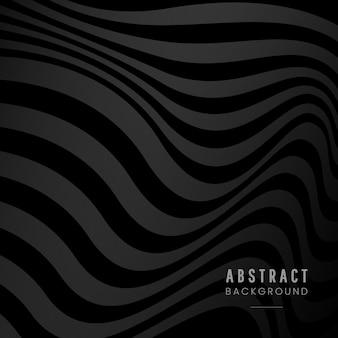 黒の抽象的な背景デザイン