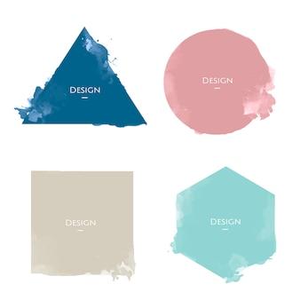 Набор шаблонов объявлений объявление дизайн иллюстрация