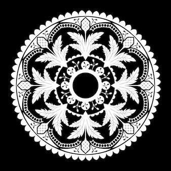 マンドラの精神的なパターン
