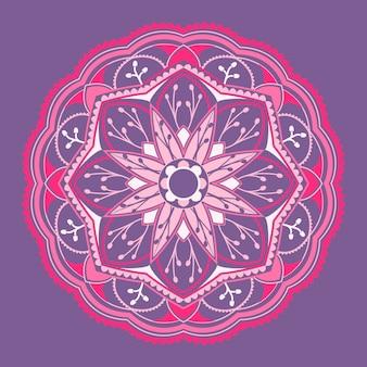 精神的なヒンズー教のマンダラ