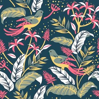 Птицы в природе дизайн