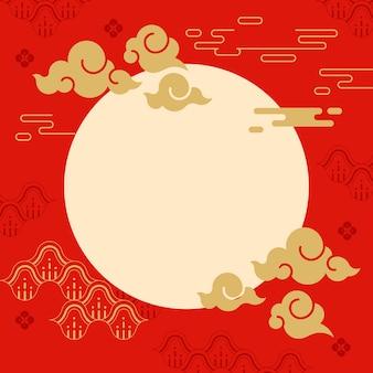 Китайский новый год макет иллюстрации