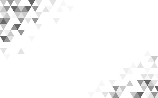 幾何学的な三角形のパターン図