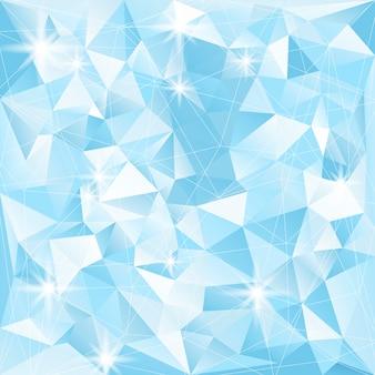 Кристалл текстурированный фон иллюстрация