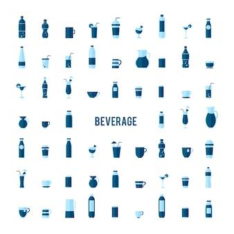 飲料ベクトルのコレクション
