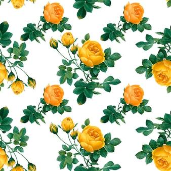 Цветочный узорчатый фон
