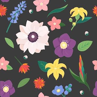 花の花ヴィンテージ華やかなコレクション