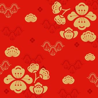 中国の旧正月の図