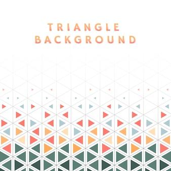 Красочная иллюстрация картины треугольника