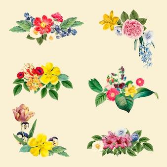 Цветочный фон иллюстрации