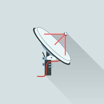 Иллюстрация спутниковой антенны