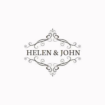 Эмблема свадебного приглашения