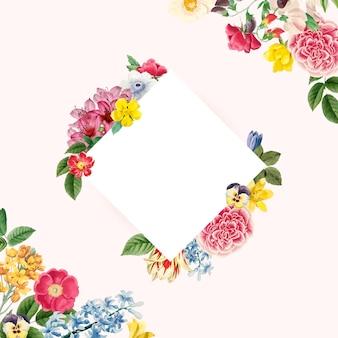 ビンテージ花飾り