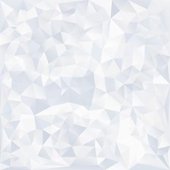 グレーと白のクリスタルのテクスチャ背景
