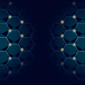 青い技術の背景