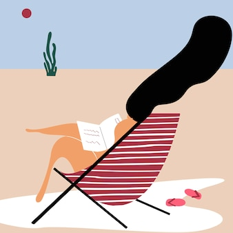 ビーチで夏の日