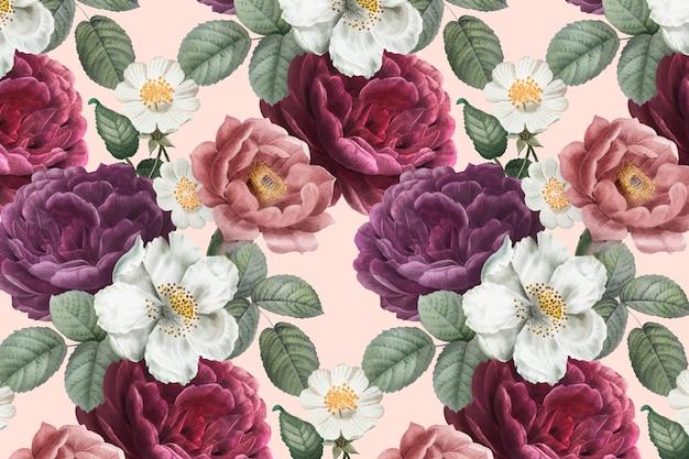 ロマンチックな花の背景