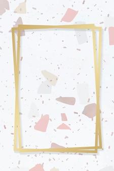 Фоновая рамка из керамической плитки